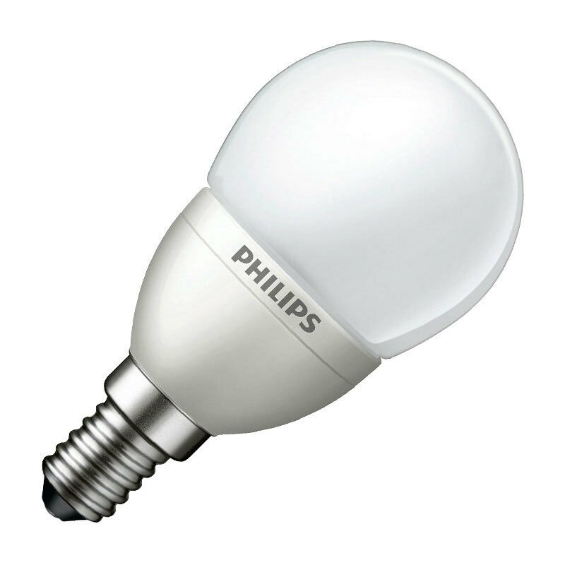 philips led frosted mini golf ball light bulb 5w 25w ses. Black Bedroom Furniture Sets. Home Design Ideas