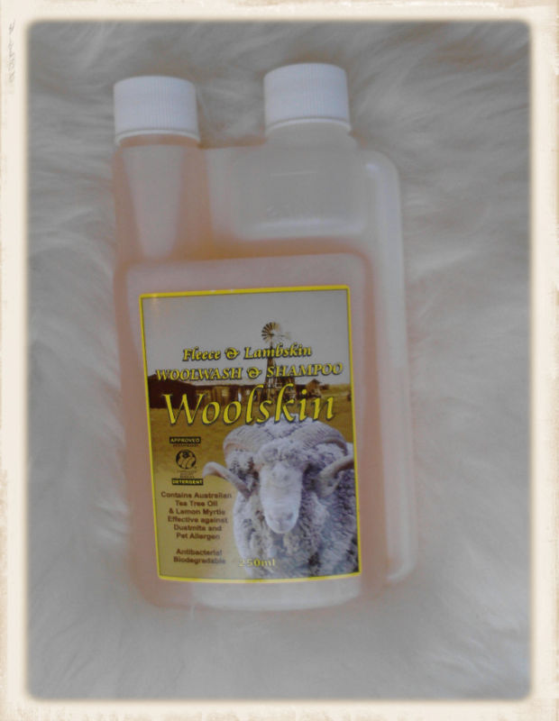 Sheepskin Rug Cleaning and conditioning care Shampoo ...