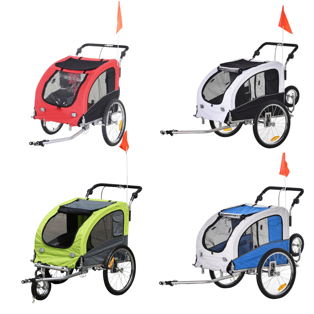 aosom elite pet dog bike trailer bicycle trailer stroller. Black Bedroom Furniture Sets. Home Design Ideas
