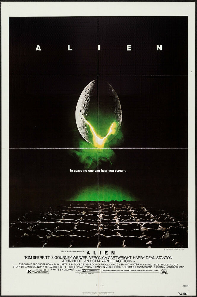alien movie poster original - photo #30