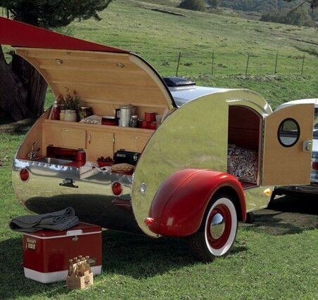 original teardrop trailer camper pop up plans over 1250. Black Bedroom Furniture Sets. Home Design Ideas