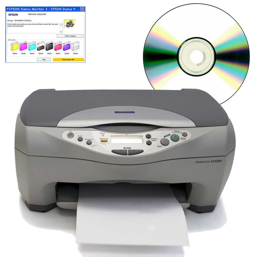 epson stylus photo r300 how to clear pad