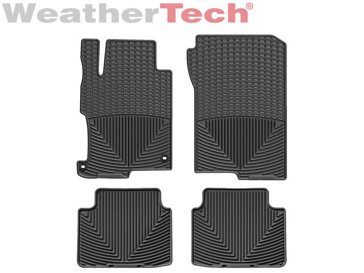 Weathertech All Weather Floor Mats For Honda Accord Sedan 2013 2016 Black Ebay