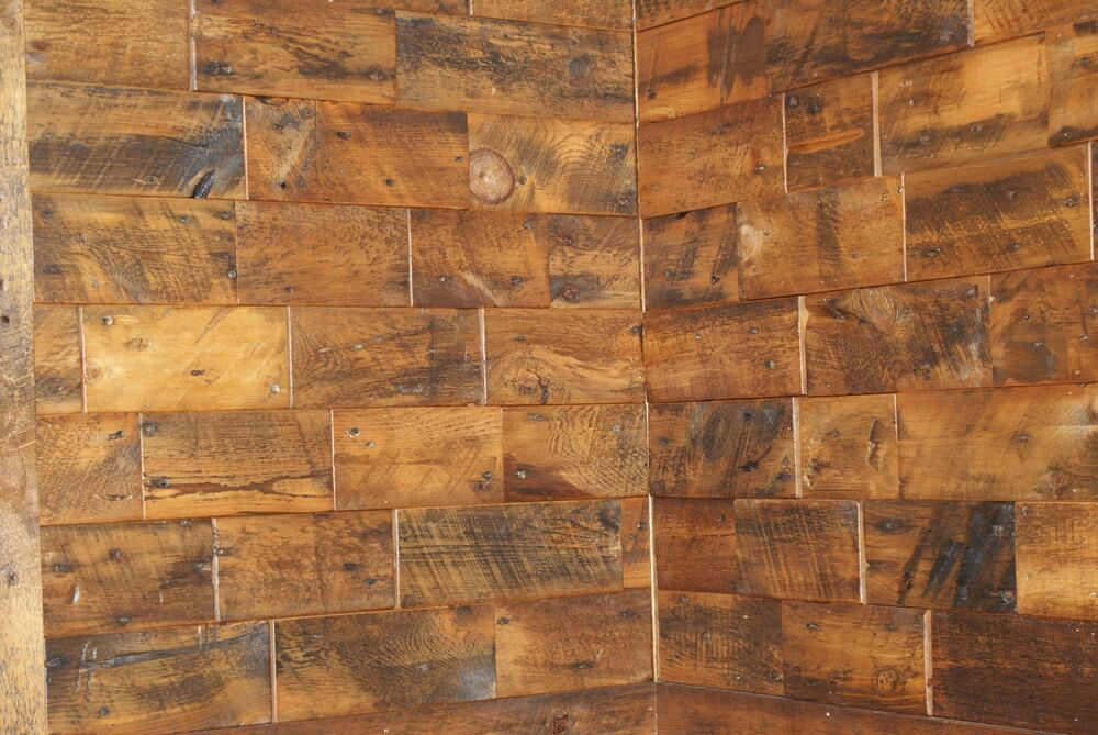 Reclaimed Old Growth Wood Wall Tiles Ebay