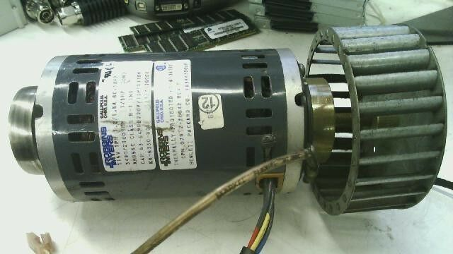 Robbins myers thermally protected 1 8 hp 115v 1ph 1 2 1 5a for Robbins and myers replacement motors