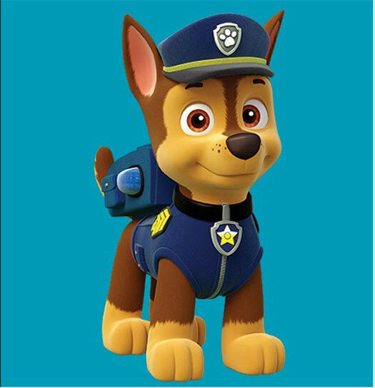 paw patrol chase fabric t shirt iron on transfer ebay
