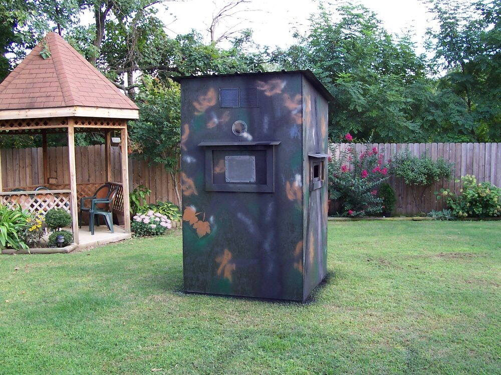Hunting box blind build plans instructions parts list deer for How to build a deer blind