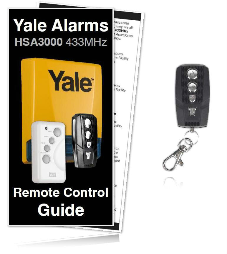 yale alarm hsa3200 premium compatible remote control for. Black Bedroom Furniture Sets. Home Design Ideas