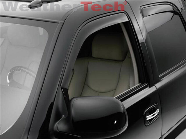 2016 Chevy Avalanche >> WeatherTech® Side Window Deflectors - Chevy Suburban ...