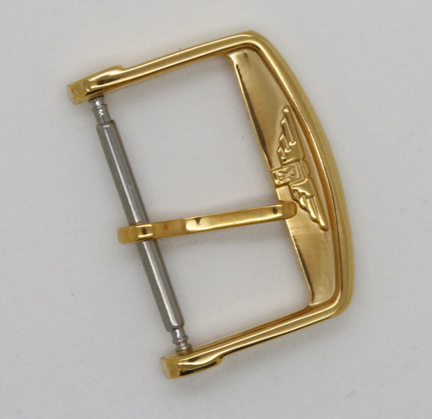 New Longines Yellow Gold Plated Replacement Pin Buckle for ...