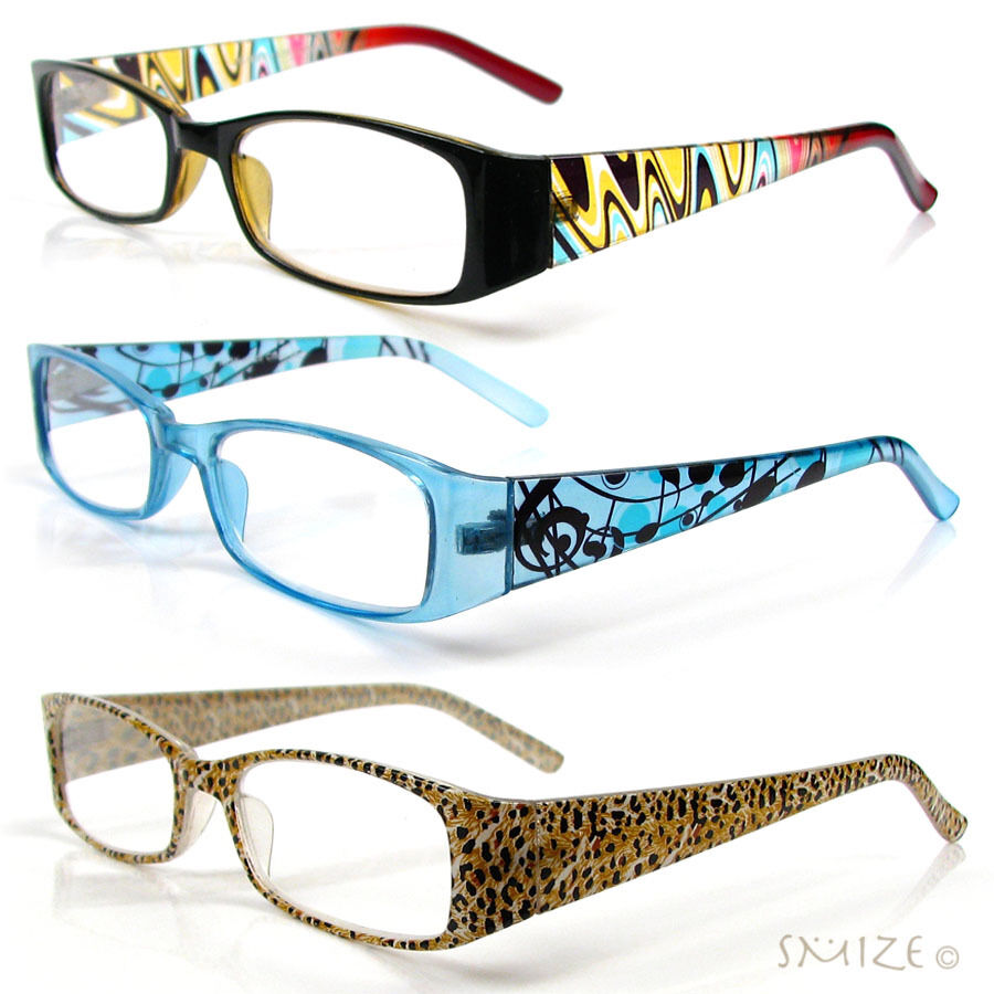 Reading Glasses Frame Names : Reading Glasses Single Vision Rectangle Frame Mix Colors ...