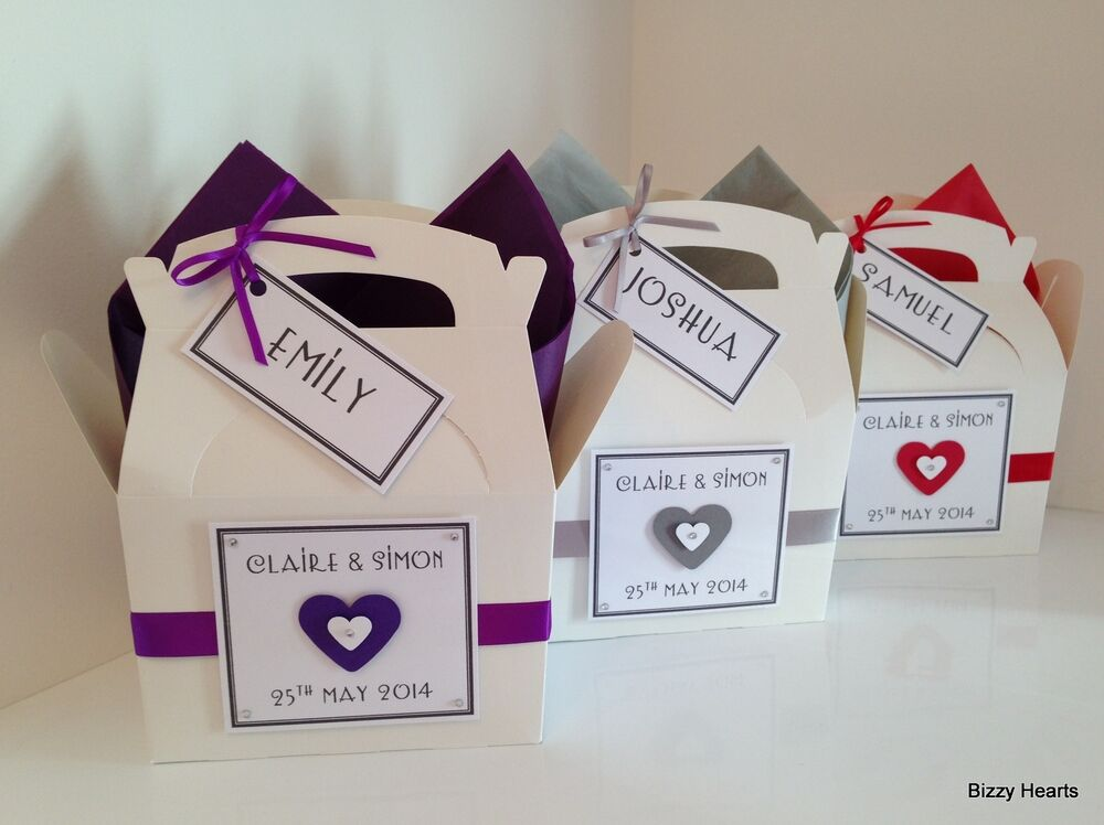Personalised Wedding Gift Boxes Uk : Personalised CHILDRENS WEDDING ACTIVITY BOX Gift Favour Book Pack ...