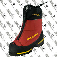 SCARPA 87405 MENS PHANTOM 6000 MOUNTAINEERING BOOT US 9, EU 42 MADE IN ITALY RED