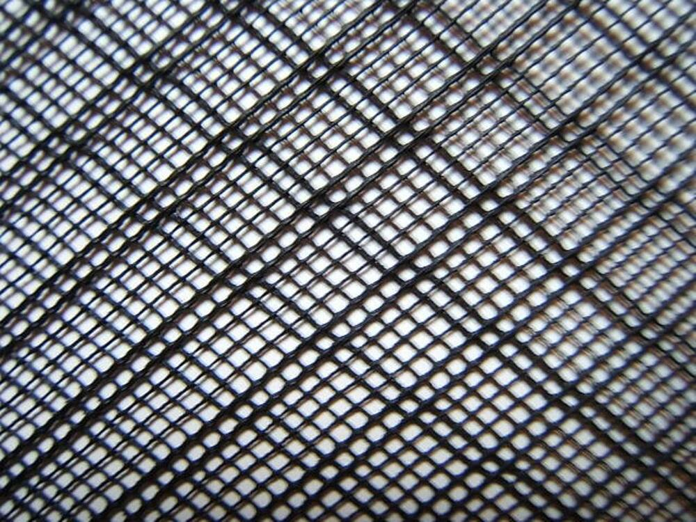 Fine Strong Black Flexible Hdpe 2mm Insect Fish Mesh