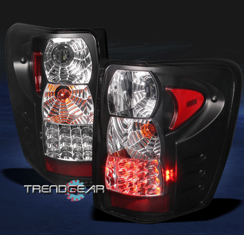 1999 2004 jeep grand cherokee altezza g2 tail light black. Black Bedroom Furniture Sets. Home Design Ideas