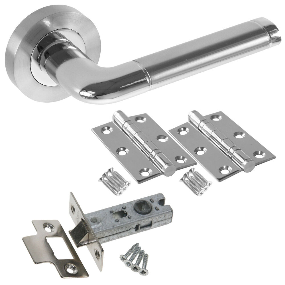 Colima internal door handle sets latch lock bathroom for Door handle with lock