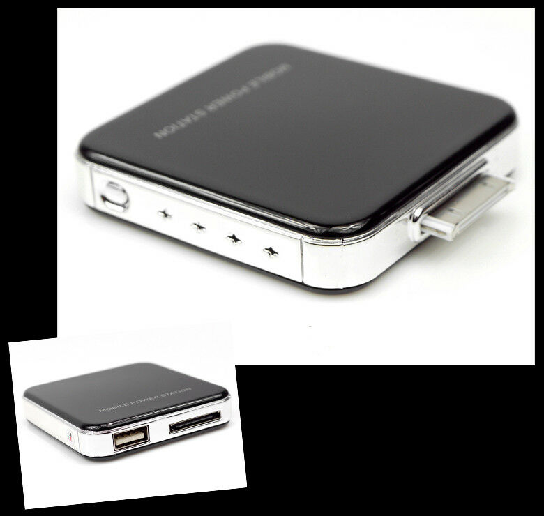 external iphone charger 2200mah portable external black battery charger usb iphone 8544
