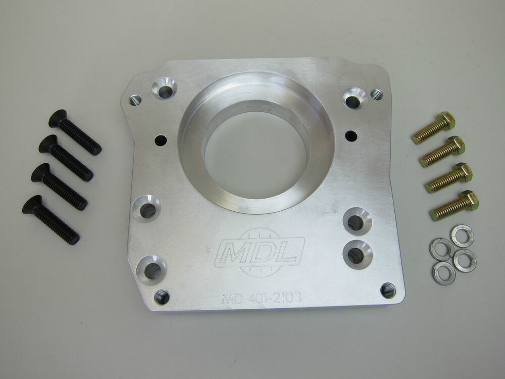 how to make transmission adapter plate