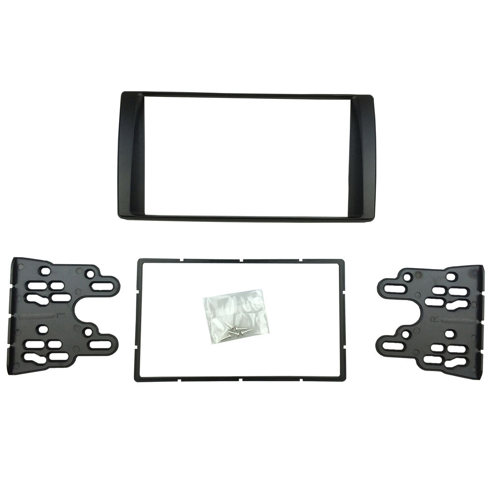 for toyota camry 2001 2006 double din radio cd stereo panel dash tim kit fascia ebay. Black Bedroom Furniture Sets. Home Design Ideas