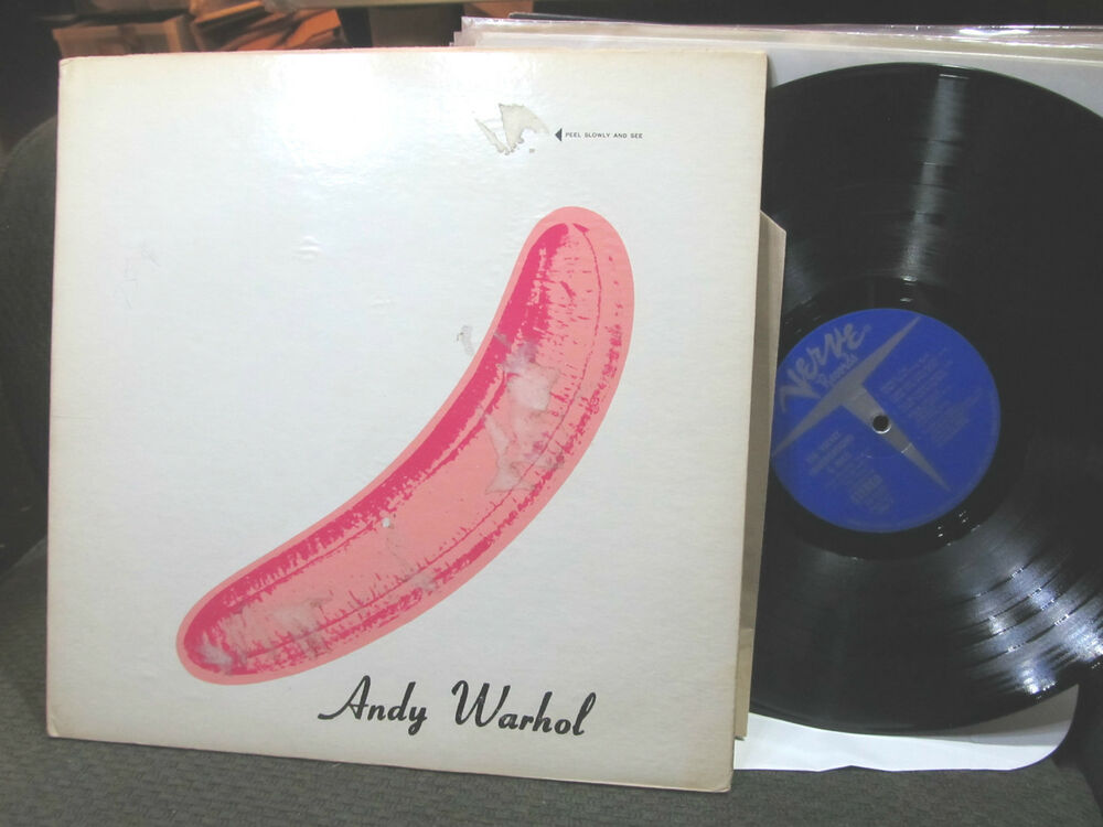 The Velvet Underground Amp Nico Lp Peeled Banana V65008 67