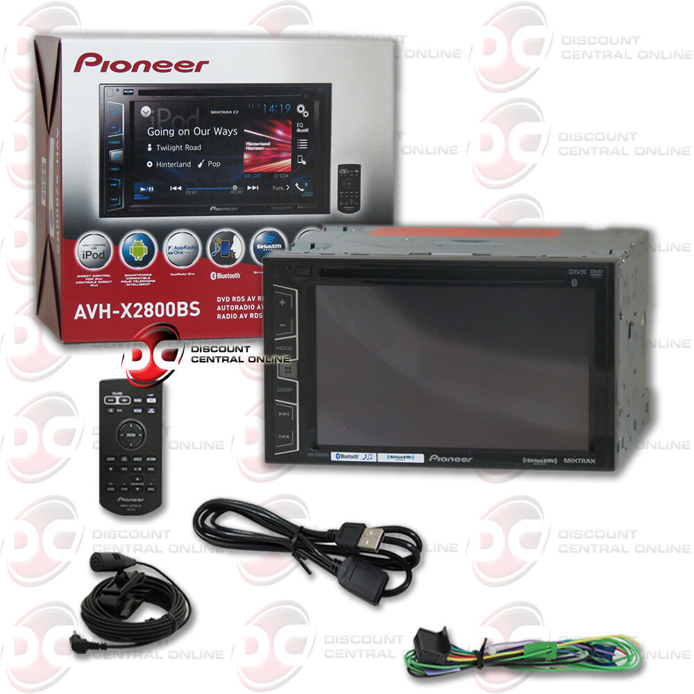 brand new pioneer 6 2 2din touchscreen car cd dvd stereo bluetooth pandora ebay. Black Bedroom Furniture Sets. Home Design Ideas