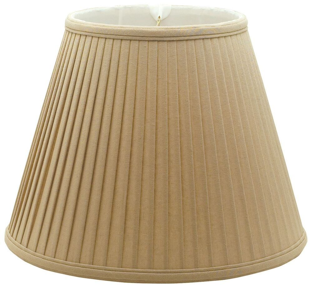 Side Wall Lamp Shades : Deep Empire Side Pleat Lamp Shade (BS-728) eBay