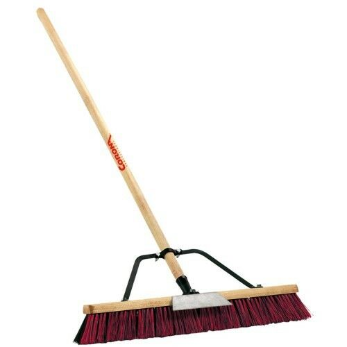 Corona Heavy Duty Street And Sidewalk Push Broom 19478 Ebay