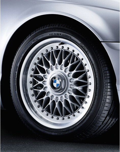 bmw e39 two piece bbs rim style 5 oem ebay. Black Bedroom Furniture Sets. Home Design Ideas