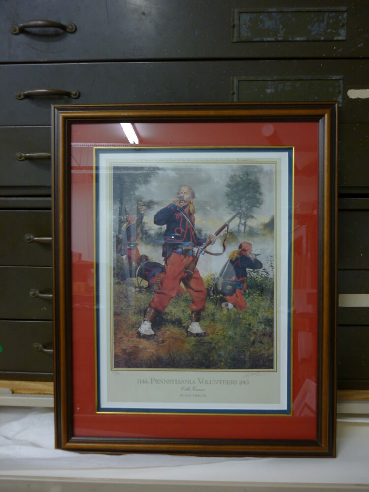 Volunteers 1863 collis zouaves pp 2 35 by don troiani ebay