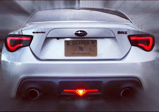 toyota gt86 subaru brz scion frs valenti led tail lamps rear light cluster ebay. Black Bedroom Furniture Sets. Home Design Ideas