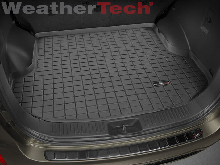weathertech cargo liner for kia sorento without 3rd row seats 2014 2015 black ebay. Black Bedroom Furniture Sets. Home Design Ideas