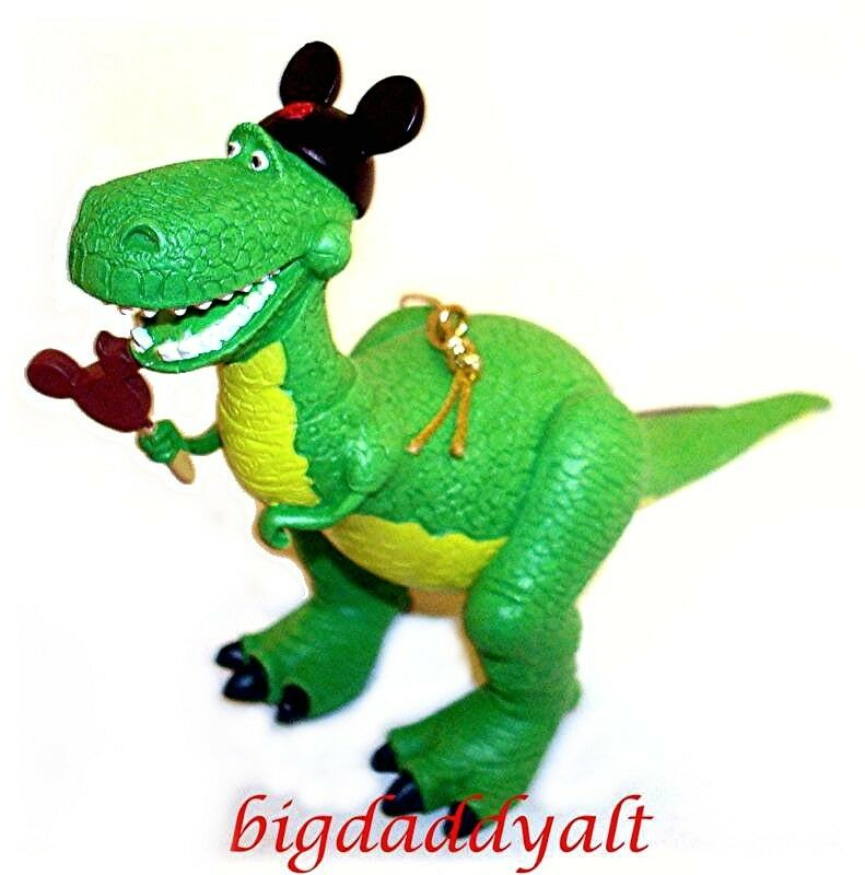 Toy Story Christmas : New disney world parks toy story rex figure christmas