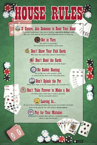 Home Poker Tournament Rules