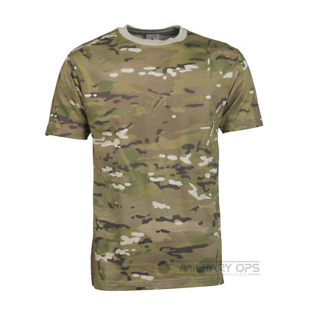 img-MILITARY MTP / MULTICAM CAMOUFLAGE CAMO T SHIRT US ARMY 100% COTTON