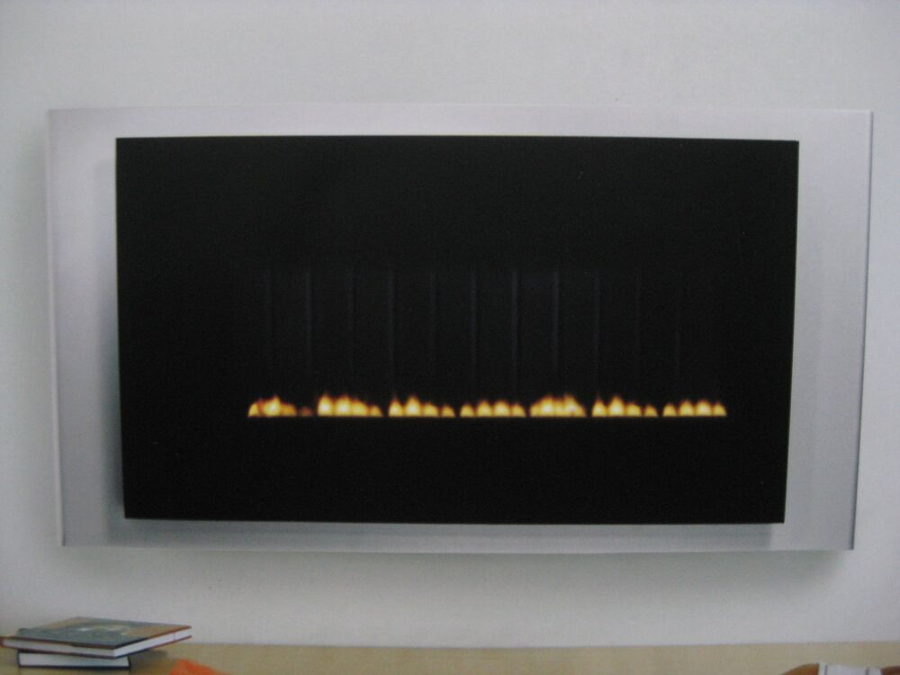 New 1 900 Focal Point 034 Neon 034 Natural Gas Wall Mount Ventless Fireplace Ebay