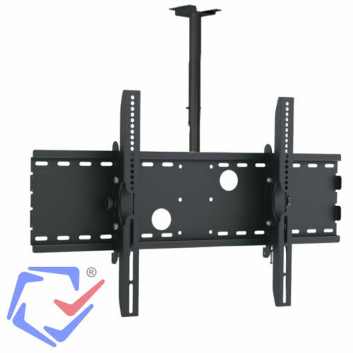 maclean universal ceiling mount tv bracket lcd led plasma 30 70 360 rotation ebay. Black Bedroom Furniture Sets. Home Design Ideas