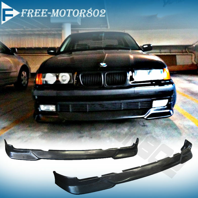 for 92 98 bmw e36 3 series 318 325 328 front bumper lip. Black Bedroom Furniture Sets. Home Design Ideas