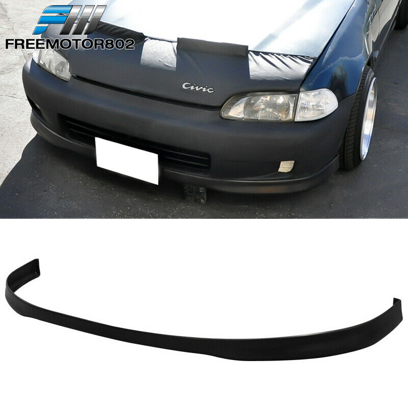 99 00 honda civic ek oem si factory front bumper lip. Black Bedroom Furniture Sets. Home Design Ideas