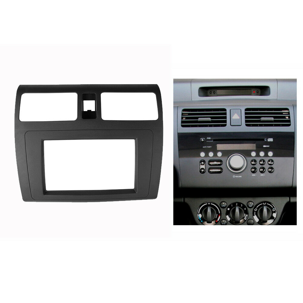 double din radio fascia for suzuki swift stereo panel. Black Bedroom Furniture Sets. Home Design Ideas