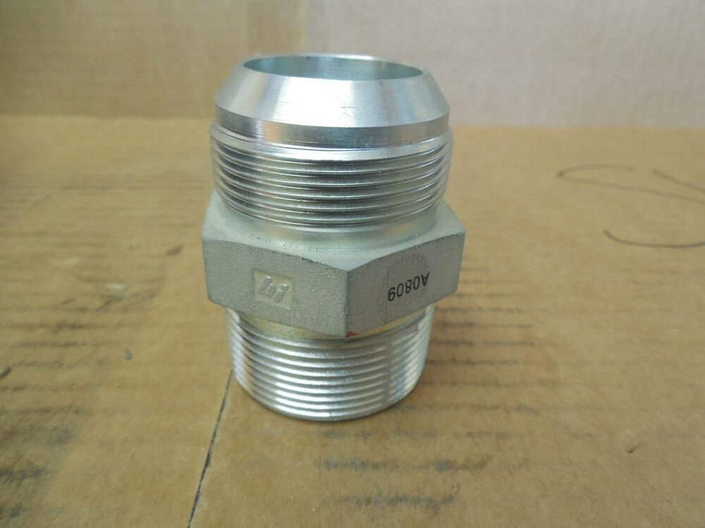 No name hydraulic flare adapter fitting a  quot npt