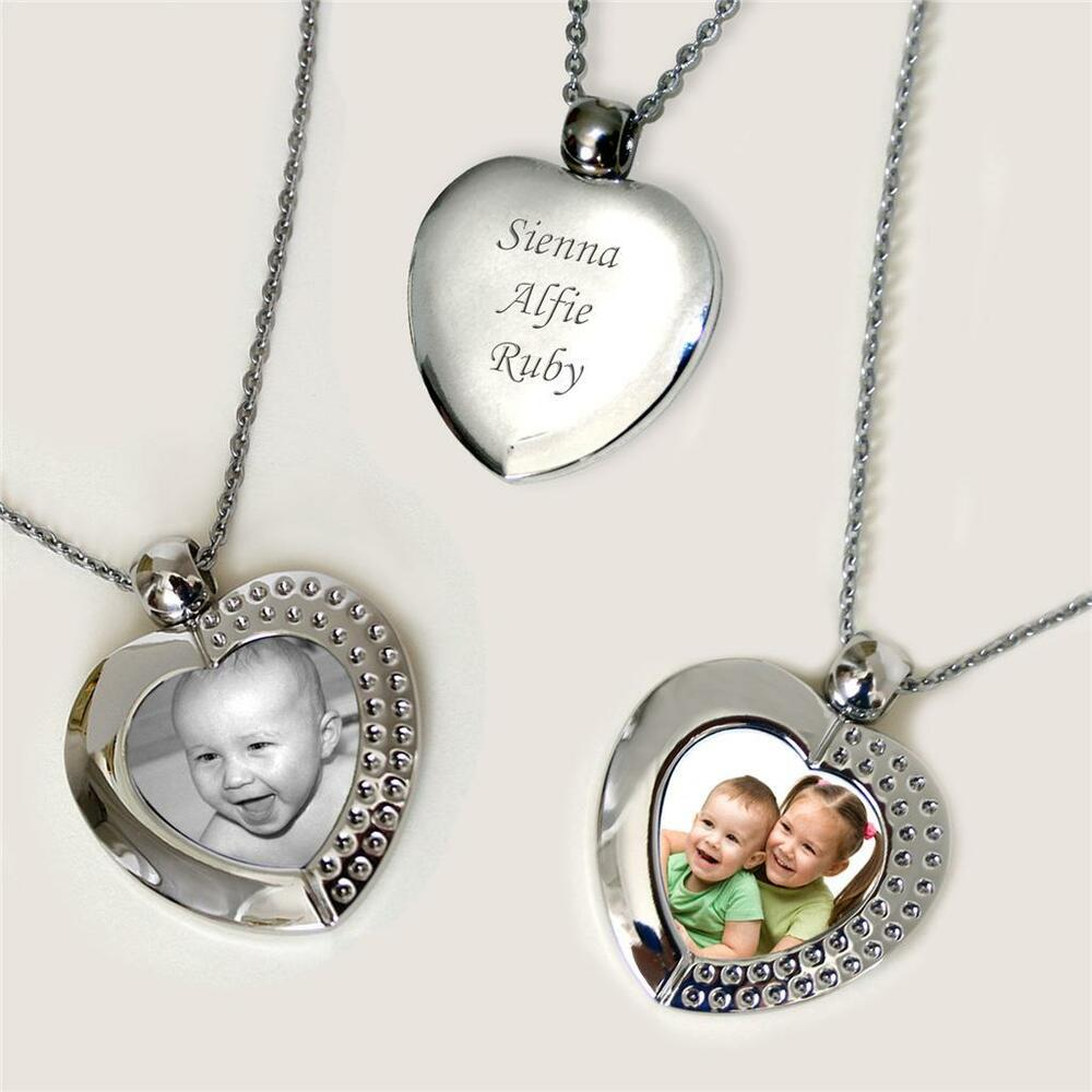 ladies open locket style necklace with your permanent. Black Bedroom Furniture Sets. Home Design Ideas