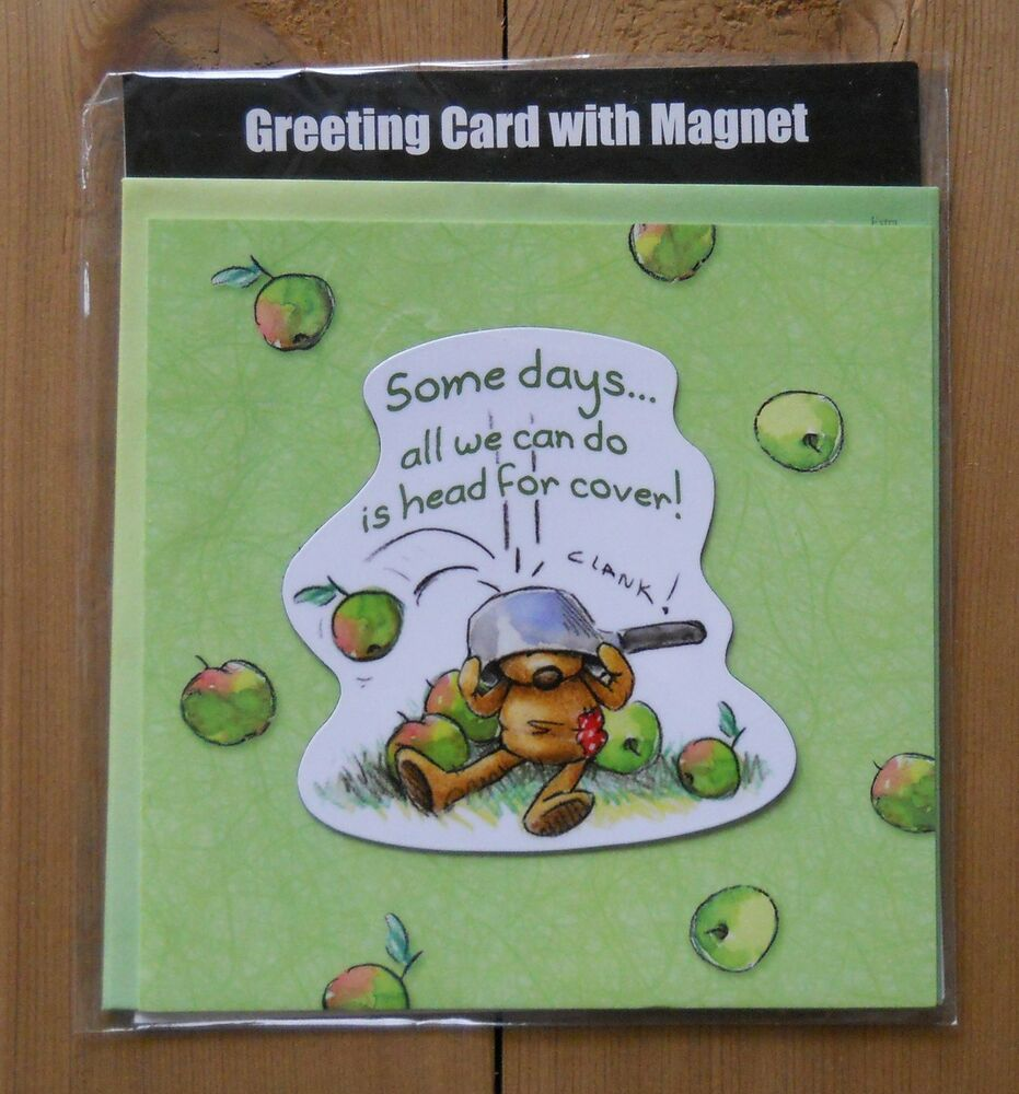Leanin Tree Greeting Encouragement Card W/ Magnet In One