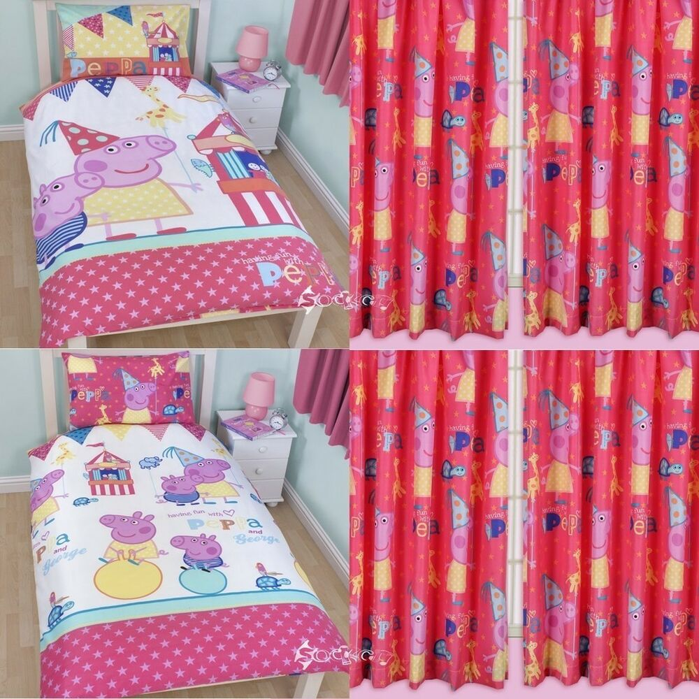 Baby bedding and curtain sets