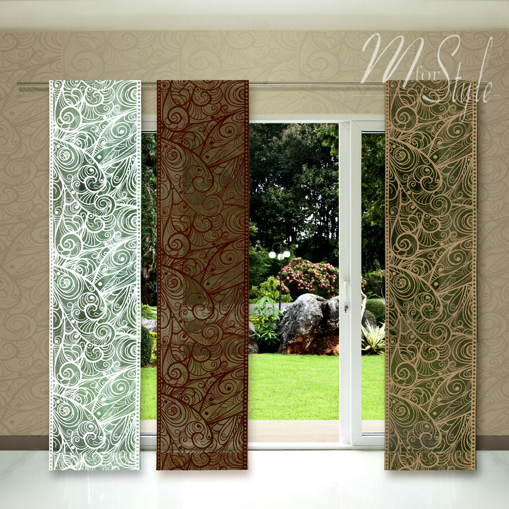 Quality Net Sheer Lace Window Panel Blind Curtain Fly Screen Slot top eBay