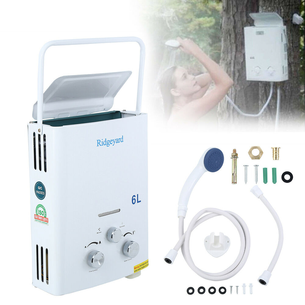 1 6gpm Portable Tankless Hot Water Heater Rv S Amp Campers