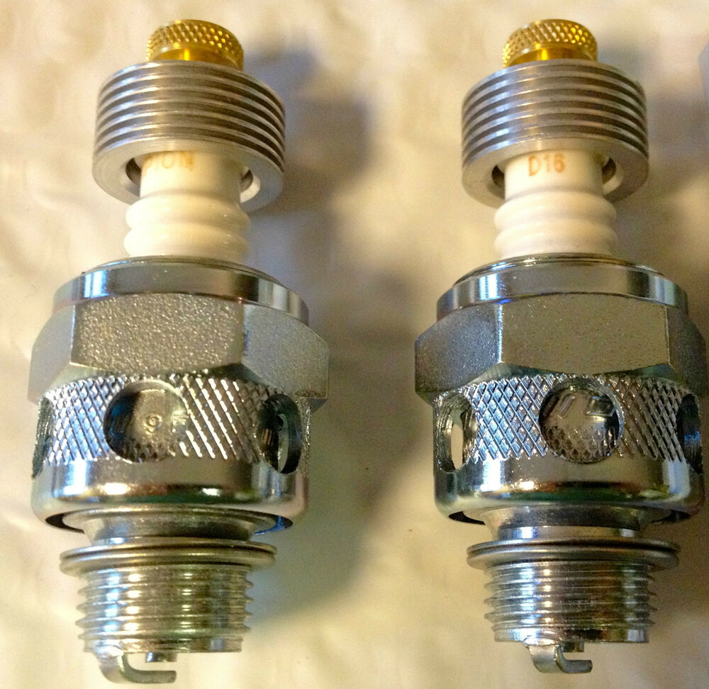 Champion 18mm Air-Cooled Spark Plugs #3 Harley Knucklehead ...