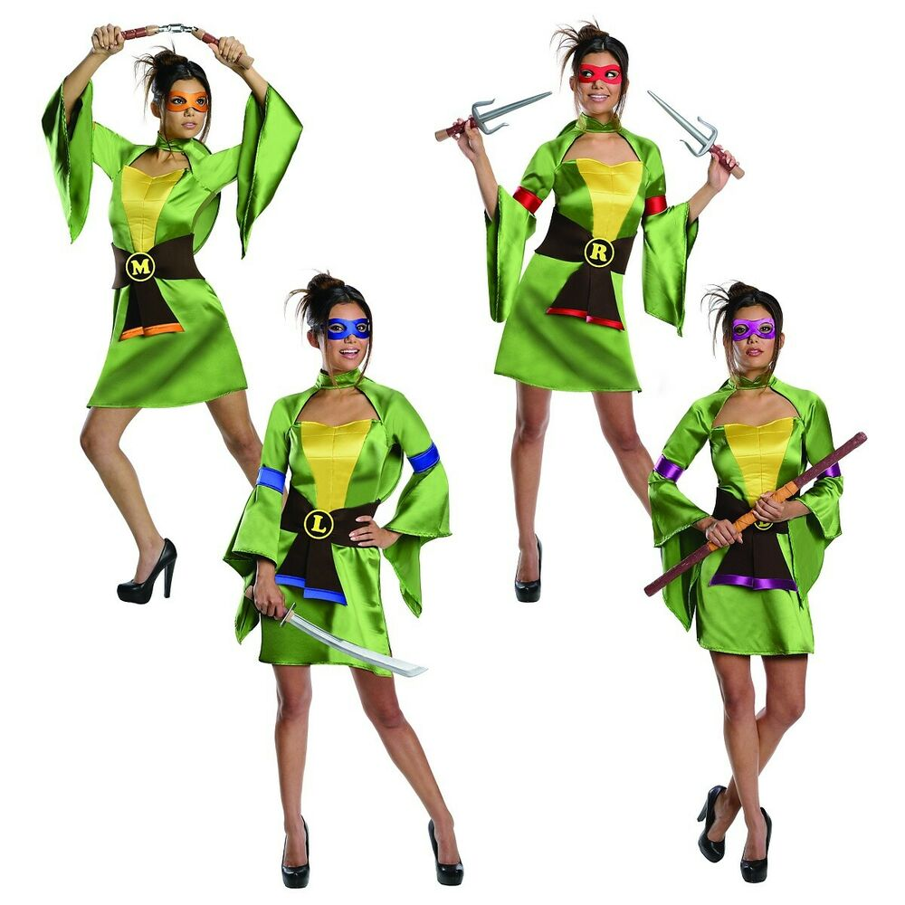 Teenage mutant ninja turtles costume for teen girls - photo#13