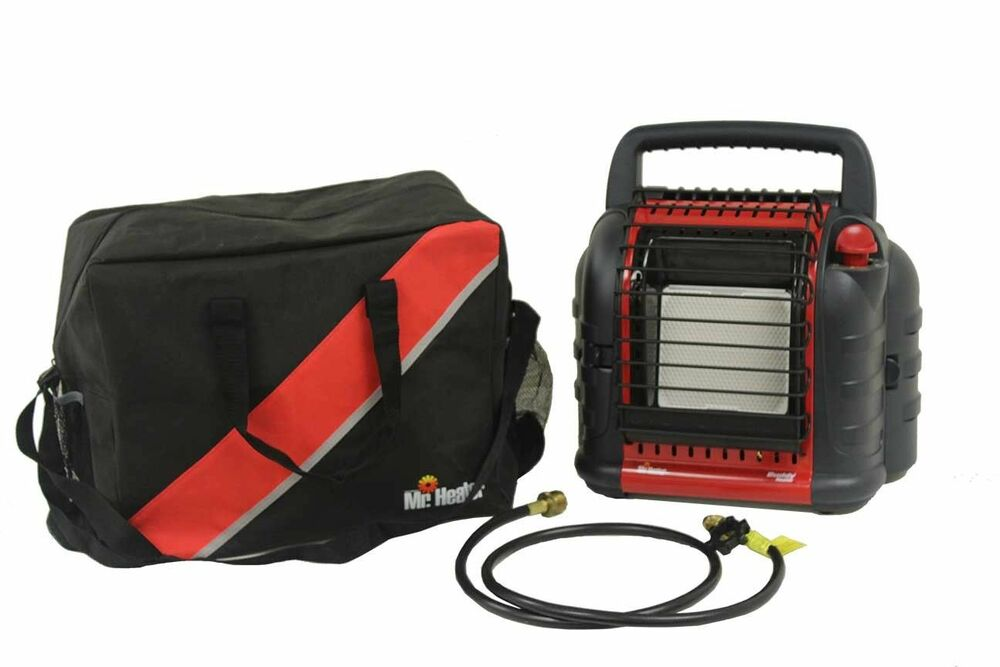 Mr Heater Buddy Heater Kit Mh12b W Carrying Bag And 5