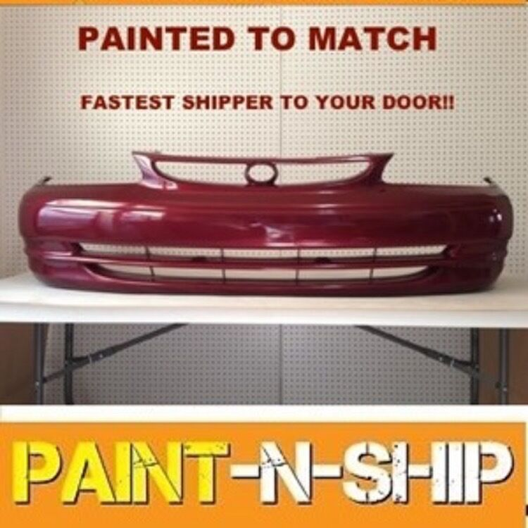 Toyota Celica 1994 1999 Invader Front Bumper: Fits; 1998 1999 2000 Toyota Corolla Front Bumper Painted