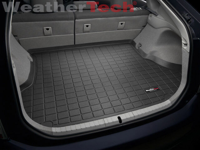 weathertech cargo liner trunk mat for toyota prius 2010 2015 black ebay. Black Bedroom Furniture Sets. Home Design Ideas